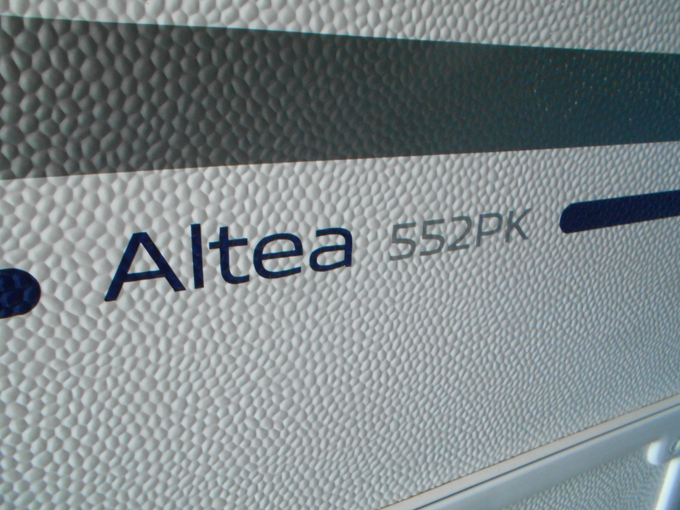 ALTEA 552 PK 快適装備インストール!